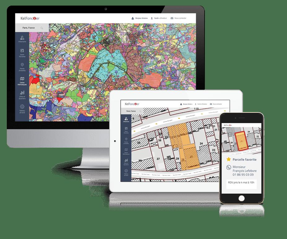Logiciel Kel Foncier ordinateur, tablette, mobile