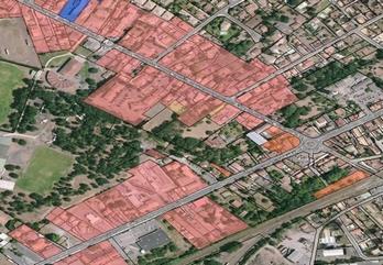 Hectares constructibles centre-ville Biganos