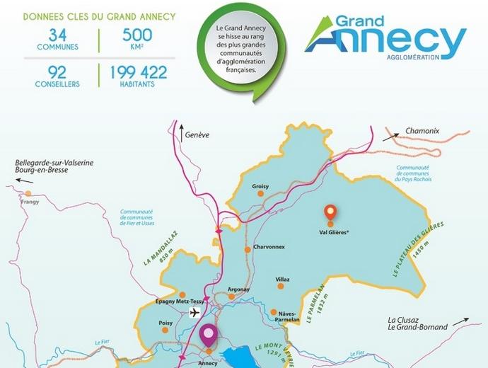 Grand Annecy : le futur PLUi prévoit d'aménager 90 000 m² autour des gares de la ville