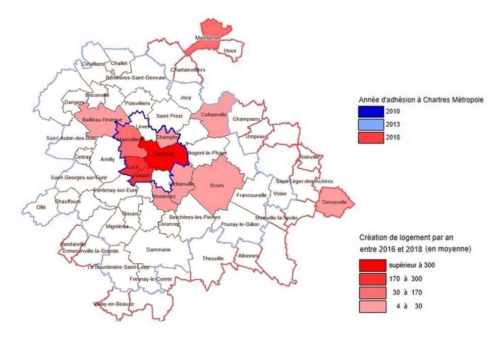 Chartres Métropole : 4 nouvelles lignes de bus à voies réservées pour attirer 1000 nouveaux habitants par an