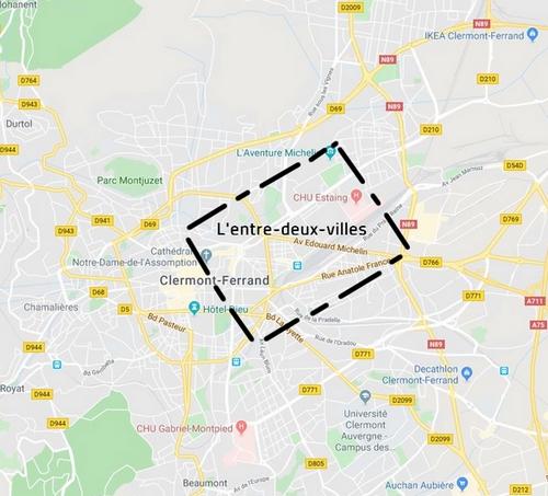 Entre-deux-villes Clermont Ferrand