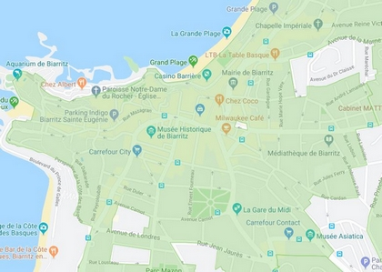 Construction logements sociaux parcelles Biarritz