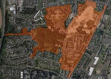 Parcelles construction 1 300 logements Saint Nazaire