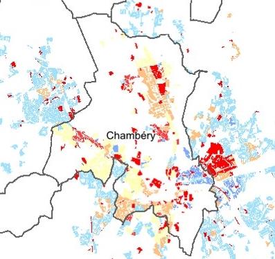PLUi de Grand Chambéry : 1500 nouveaux logements par an