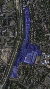 Parcelles réaménagement Port de Plaisance à Vannes