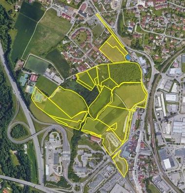 Surface de plancher pour construction de logements à Pringy